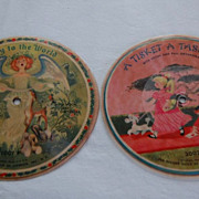 Vintage 1950's Childrens Picture Records