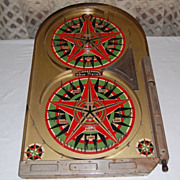 "Linstrom's 1933 ""Gold Star"" Tin Painted Pinball Game"