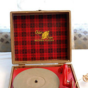 SOLD Vintage 1950's Peter Pan Child's Record Player