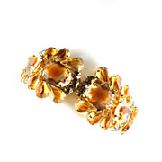DeLizza and Elster Juliana Topaz Givre Rhinestone Bracelet