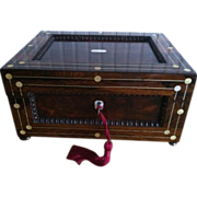 SALE English George III  1760-1820 Sewing/Work Box