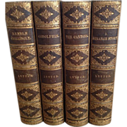 SALE Four Volumes of the Works of Edward Bulwer-Lytton