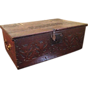 SALE 18th Century English Bible Box