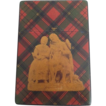 1860's Tartan Ware Calling Card Case 'Prince Charles&quot;