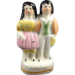 English Staffordshire Figurine, Young Royals, C. 1880