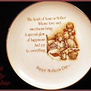 SOLD Holly Hobbie Mother's Day Collectors Plate