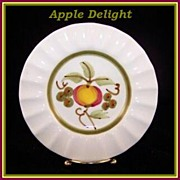 Stangl Apple Delight Ashtray