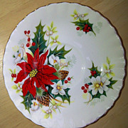 Royal Albert Poinsettia Saucer