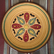 Pennsbury Pottery Hex Dinner Plate