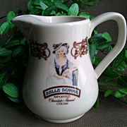 Belle Bonne Chocolate Almond Cream Liqueur Pitcher