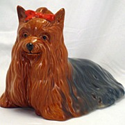 Yorkshire Terrier with long hair - Beswick dog Figurine - 1944
