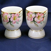 Noritake Azalea egg cups - red mark - several eggcups available