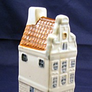 KLM airlines miniature Delft canal house 81