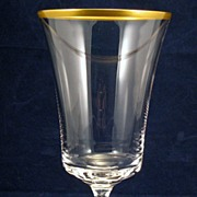 Fostoria Richmond Gold Rim Glass Ice Tea Goblet - #6097 - several available