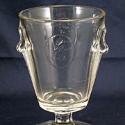 EAPG Cameo spooner - antique glass