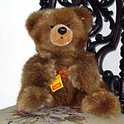 SALE Steiff Teddy Bear Molly Bar Bear Toy - ear button and tags - 0330/45