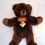 SALE Steiff Teddy Bear Molly Bar Bear Toy - ear button and tags 0320/55 - large size