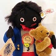 Golli G. with a Steiff bear - limited edition
