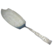 "Trianon by Knowles Repousse Sterling silver Ice Cream Server Slice 11"" Long"