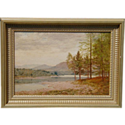 SALE Original Daniel Sherrin Landscape Oil Painting