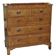 SALE Antique George III English Dresser Chest of Drawers