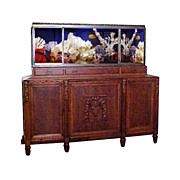 Fantastic Art Deco Aquarium & Cabinet c. 1910
