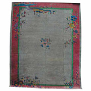 4544 1920'S Art Deco Rug From China