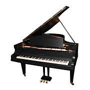 Beautiful Antique Black Bechstein Grand Piano