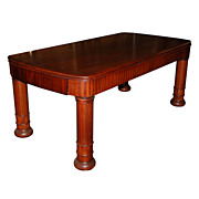 20.4704 Super Art Deco Table/Desk with Wonderful Mohagany Wood Which Shows A Beautiful ...