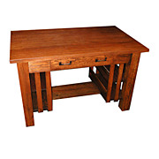 Charming Oak Mission Table c. 1910