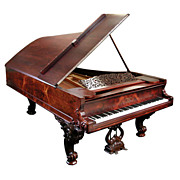 "Magnificent Antique Steinway Fancy ""D"" Grand Piano"