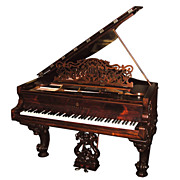 Magnificent Antique Steinway Model B Grand Piano