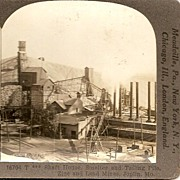 Joplin, Missouri Zinc and Lead Mines Keystone Stereo View