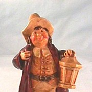 Sebastian Colonial Watchman Figure with Marblehead Label