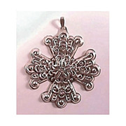 Reed & Barton 1974 Sterling Christmas Cross