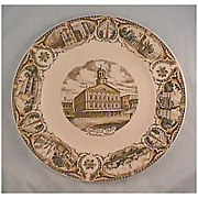 Faneuil Hall, Boston, Mass. Plate