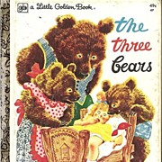 The Three Bears - Little Golden Book