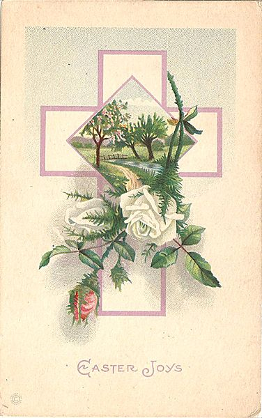 Easter Joys Post Card