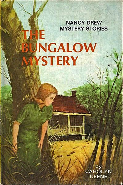 Nancy Drew Book Cover Pictures ~ Nancy drew the bungalow mystery from antique ables on