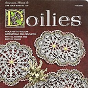 Crochet Doilies Instruction Booklet by American Thread Company