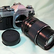 Canon AE-1 35mm Camera