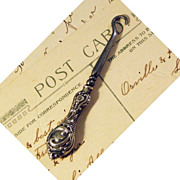 Button Hook Glove Hook Sterling Silver