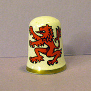 Caverswall England Thimble Scotland