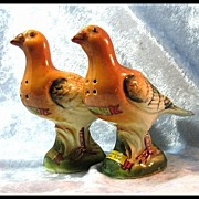 Pair of Pheasants - Salt and Pepper Shakers Souvenirs