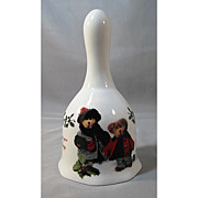 Boyds Bears Porcelain Holiday Bell - Special Times and Holiday Wishes