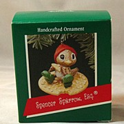 Hallmark Ornament - Spencer Sparrow, Esq. Handcrafted 1989
