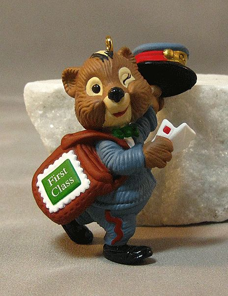 Hallmark Keepsake Ornament - Extra-Special Delivery First Class Postman