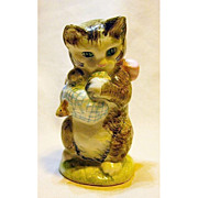 Beatrix Potter Figure Miss Moppet Cat Kitten
