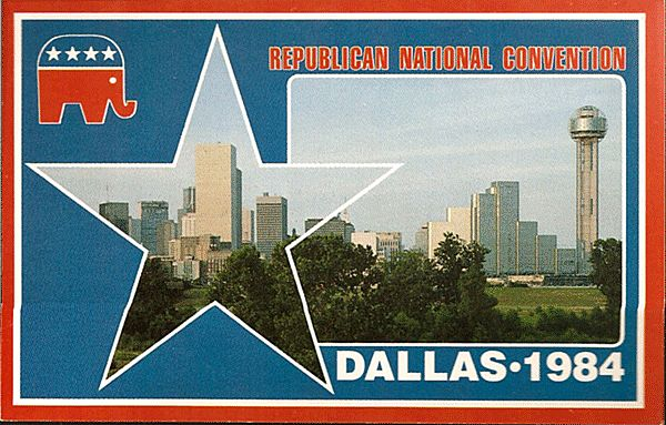 Postcard From The Republican National Convention Dallas