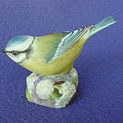 Royal Worcester Blue Tit #3199